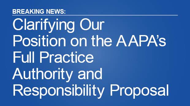 SDPA Clarifies Its FPAR Position