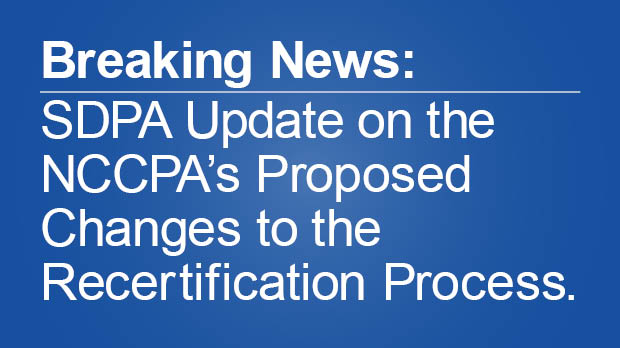 NCCPA Recertification Update