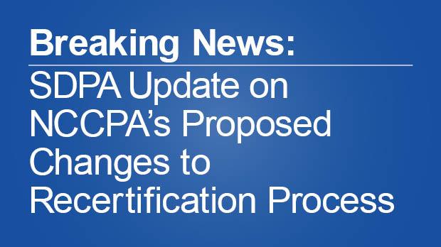 NCCPA Update