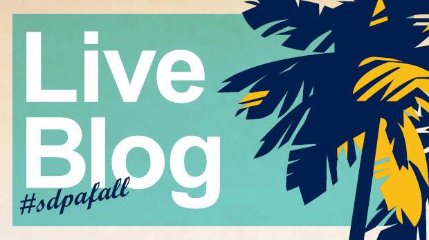SDPA Fall 2018 - Live Blog